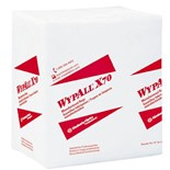 "Wypall 41200 WYPALL X70 Durable and Absorbent Wipers, 12.5"" x 12"", 76/Pkg"