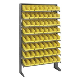 Quantum Storage Systems QPRS-101Y Single Sided Unit, 64 Yellow Bins