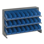 Quantum Storage Systems QPRHA-101 Bench Top Unit, 24 Blue Bins