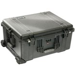 Pelican 1610 All-Weather Foam-Filled Case with Built-in Wheels