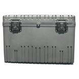 Jensen Tools RR2822-18TWF-BK Rotationally Molded Case with Built-in Cart, Foam Filled