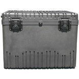 Jensen Tools RR2822-20TWF-BK Rotationally Molded Roto-Rugged Case with Built-in Cart, Foam-Filled, 28 x 22 x 20