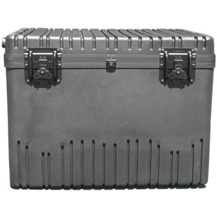 Jensen Tools 1RR2822-20TWFBK Rotationally Molded Roto-Rugged Case with Built-in Cart, Foam-Filled, 28 x 22 x 20