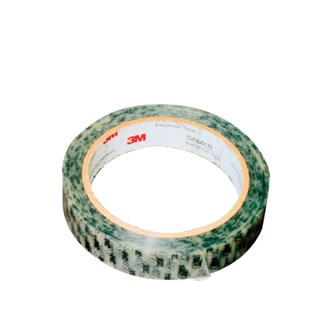 """3M 40PR-1 Antistatic Tape with Printed 3M Logo and ESD Symbols, 3"""" Core,  1"""" Wide, 72 yds. Long"""