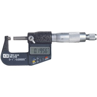 "Chicago Brand 50059 0-1"" MICROMETER ELECTRONIC CHICAGO BRAND"