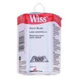 Wiss RWK14D Replacement Utility Knife Blades, 100/PKG