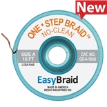 "Easy Braid LF-B-10AS Desolder Braid, LEAD FREE, .050"" X 10', ESD Case of 25"