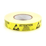 "Botron B6734 5/8"" x 2"" Awareness Labels, 500/Roll"