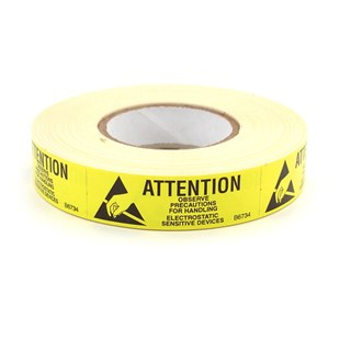 "Techni-Stat 758ST0673 5/8"" x 2"" Awareness Labels, 500/Roll"