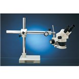 LUXO Microscopes by UNITRON 18712 Microscope System w/Boom Stand and Fluorescent Ring Light