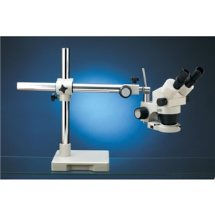 LX Microscopes by UNITRON 18712 Microscope System w/Boom Stand and Fluorescent Ring Light