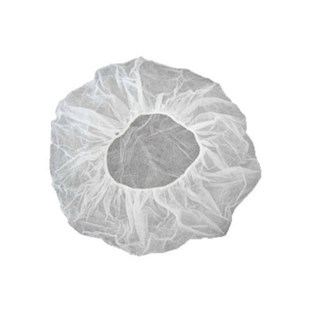 "APP0310-21W Bouffant Cap 21"", White, 100/Bag"
