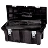 "Rubbermaid 7802 Professional-Grade Tool Box 26"" x 11"" x 11-1/8"" (O.D.)"