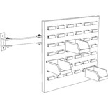 Production Basics 8627 Swing Arm Parts Bin Panel