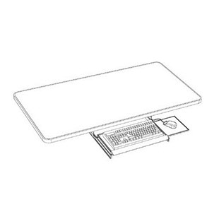 Production Basics 8681 Keyboard Drawer