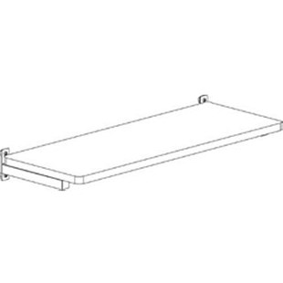 "Production Basics 8430 15"" x 48"" ESD-Safe Laminate Shelf"