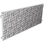 "Production Basics 8735 Tack Board/Privacy Panel, (72"" wide)"
