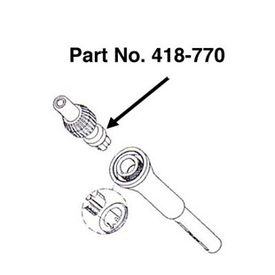 Pace 6010-0095-P1 PS-90 Heater Cartridge