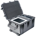 Pelican 1660 Pelican All Weather Foam Filled Case with Built-in Wheels