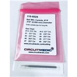"CircuitMedic 115-6025 Ball Mill, #1/4, .019"" Diameter"
