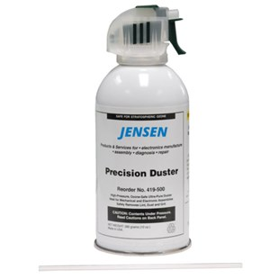 Jensen Tools 419-500 Economical High Precision Air Duster, 10 oz Can