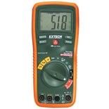 Extech EX470 True RMS Auto Range DMM, with Capacitance, Frequency & built-in IR Thermometer