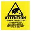 "Techni-Stat 758ST722 2"" x 2"" Awareness Labels (Mil-Std 129), 500/Roll"