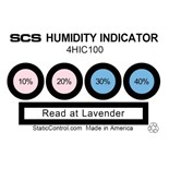"SCS 4HIC100 10, 20, 30, 40%  Humidity Indicator Cards, 2"" x 3"", 100/Can"