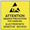 "Techni-Stat 758ST6736 4"" x 4"" Awareness Labels, 250/Roll"