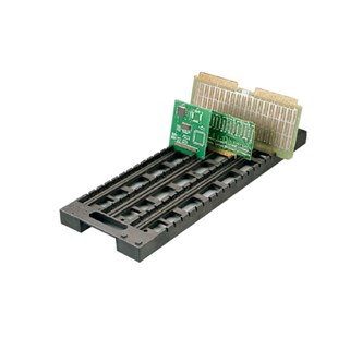 "Fancort RA-24CP ESD-Safe Conductive PCB Holder, 23"" x 8-1/2"" with 20 Slots"