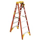 Werner 6206 6-Foot Fiberglass Stepladder