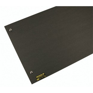 "Protektive Pak 37676 Pro Mat ESD-Safe Corrugated Work Surface, 22-1/2"" x 35-1/2"" x 1/16"" with Male (10mm, 3/8"") Grounding Snaps"