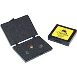 """Conductive Containers Inc. PP3545 Static Shielding Storage Boxes with Foam (ID 4-5/8"""" x 3-1/2"""" x 1/2"""")"""