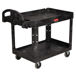 "Rubbermaid 4520-88 Large Utility Cart, 45"" L x 26"" W x 33"" H"