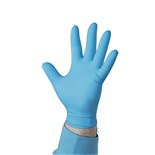 "QRP BQF09 9""  Nitrile Gloves, Powder Free, 5 mil, Medium, 100/Box"