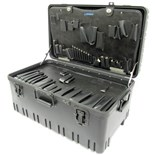 "Jensen Tools 423-763 Roto-Rugged™ wheeled case and pallets 24-7/8 x 14-1/2 x 12"" F/ JTK-97LW"