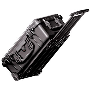 Pelican 1510 All-Weather Foam-Filled Case with Built-in Wheels