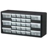"Akro-Mils 10126 Plastic 26-Drawer Small Parts Cabinet, OD 20"" x 6-3/8"" x 10-11/32"""