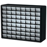 "Akro-Mils 10164 Plastic 64-Drawer Small Parts Cabinet, OD 20"" x 6-3/8"" x 15-13/16"""