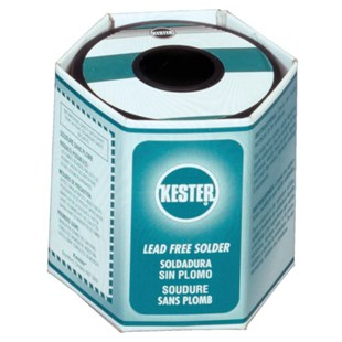 Kester 2495747609 Solder Wire, No Clean, Lead Free, K100LD, 3.3%, 0.015 in (0.40 mm), 275 Series