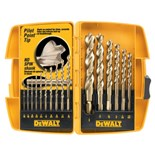 Dewalt DW1956 16-Piece Pilot Point Drill Bit Set