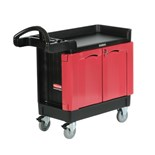 "Rubbermaid 4512 TradeMaster™ 2-Door Mobile Cabinet, (41"" L x 18"" W x 38"" H), 500 lbs. Capacity"
