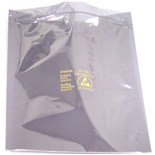 "SCS 3001218 Transparent Metal-In Static Shielding Bag - ZipTop (12"" x 18""), 100/Pkg."