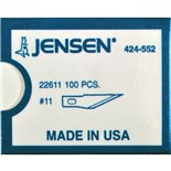 Jensen Tools 22611 Fine Point Blades 100/pk