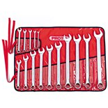 Proto J1200P-MASD 15 Pc. Metric Combination Wrench Set- 12 PT