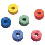 "Aimco AM1/4 Mag-O-Net® Detachable Magnetic Rings For 1/4"" Shank Bit (Pkg-10- 2 of each color)"