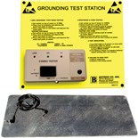Techni-Stat 758ST8506 Combo Wrist Strap and Footwear Tester (Wall Mountable)