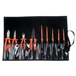 Cementex TR-9ELK 9-pc Electrician's Insulated Tool Set