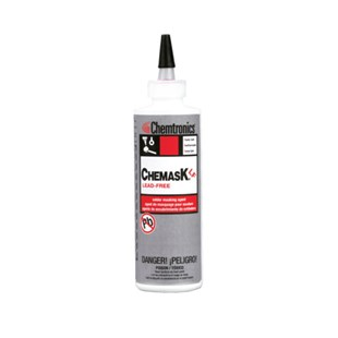 Chemtronics CLF8 Chemask® Lead-Free Solder Masking Agent, 8oz Squeeze Bottle
