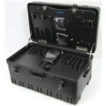 Jensen Tools 425-816 Roto-Rugged™ Wheeled Case w/ Pallets ( 25 x 14-1/2 x 12')